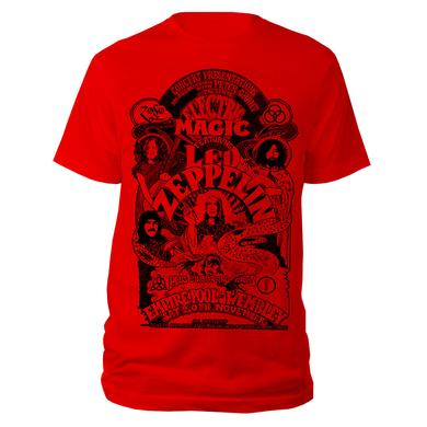 Led Zeppelin Electric Magic Red T-shirt