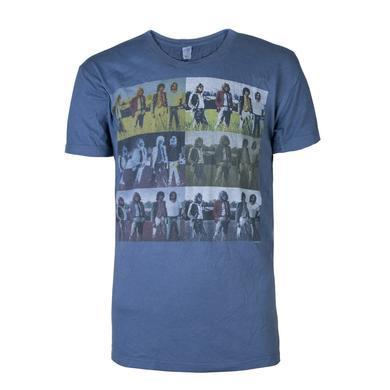 Led Zeppelin Knebworth 6 x photo vintage blue Trunk Men's Shirt