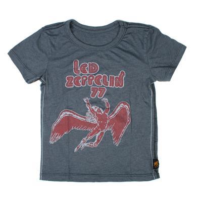 Led Zeppelin '77 Graphite Trunk Kids' Shirt