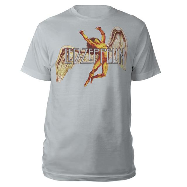 Led Zeppelin Icarus In Color Silver T-Shirt