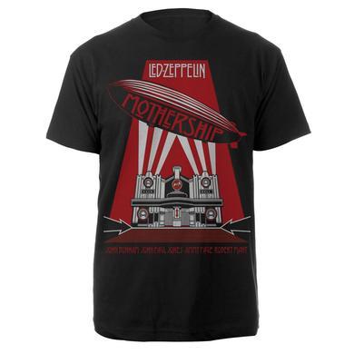 Led Zeppelin Mothership Black T-Shirt