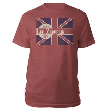 Led Zeppelin Union Jack Red T-Shirt