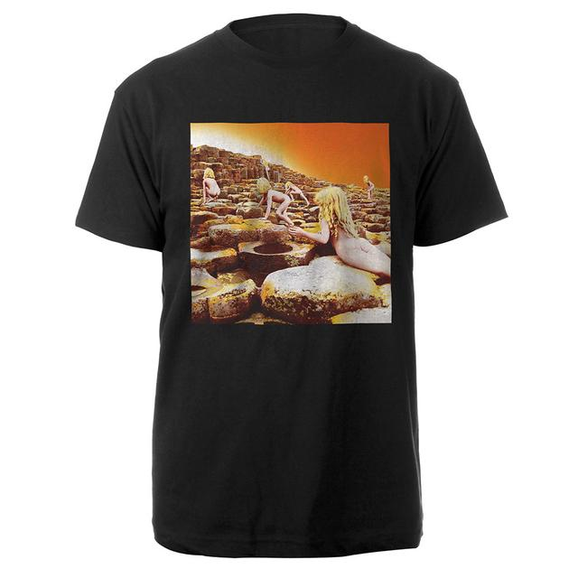 Led Zeppelin Houses Of The Holy Album Black T-Shirt