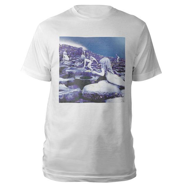 Led Zeppelin Houses Of The Holy Companion Album White T-Shirt