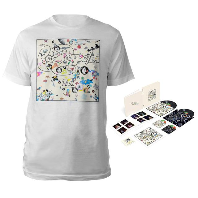 Led Zeppelin III Super Deluxe Edition Box Set + Album White T-Shirt