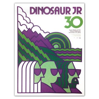 Dinosaur Jr. 30th Anniversary [12/2015 NYC, NY] Poster