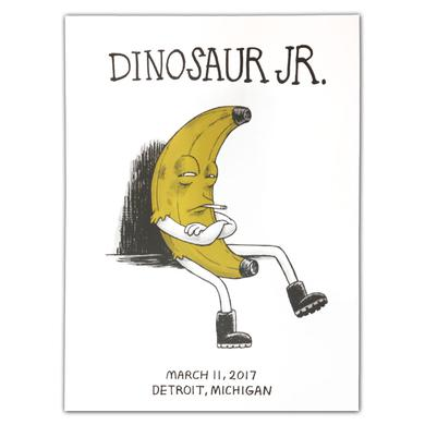 Dinosaur Jr. Banana [3/11/17 Detroit, MI] Poster