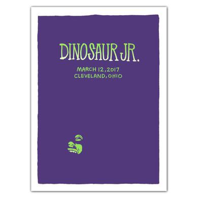 Dinosaur Jr. Face [3/12/17 Cleveland, OH] Poster