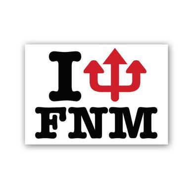 Faith No More Pitchfork Sticker