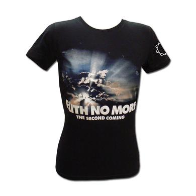 """Faith No More Girl's """"The Second Coming"""" Blue Sky Tee"""