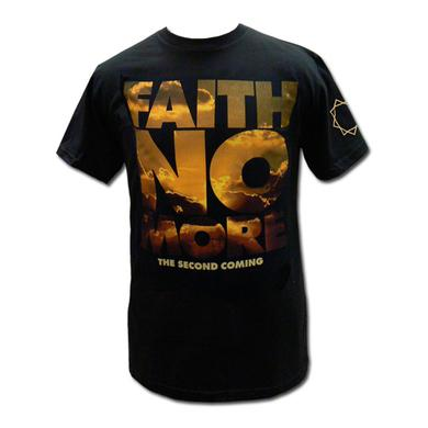 """Faith No More """"The Second Coming"""" Yellow Sky Tee"""