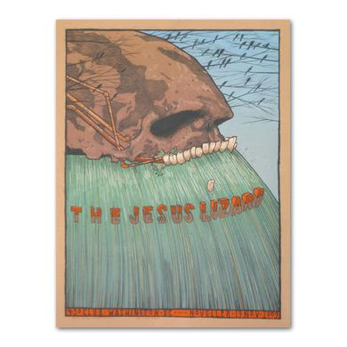 Jesus Lizard  [UNSIGNED] Jay Ryan Washington D.C. '09 Poster