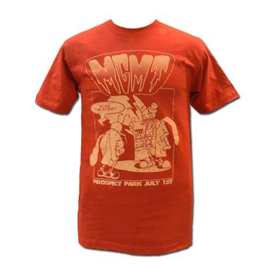 Mgmt Red Buzz T-shirt