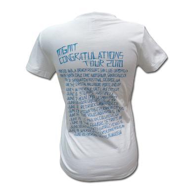 Mgmt Girl's Logo 2010 Tour T-shirt
