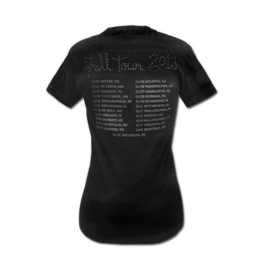 Mgmt Girl's Faces Fall 2013 Tour T-shirt