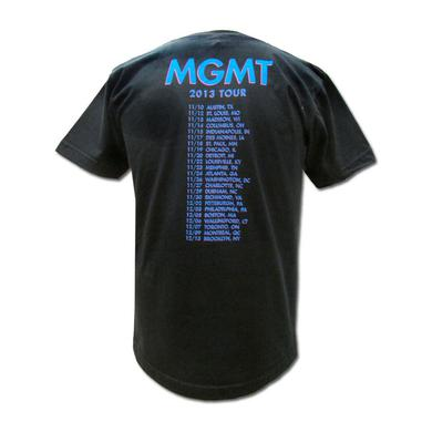 Mgmt Op-Art Fall 2013 Tour T-shirt
