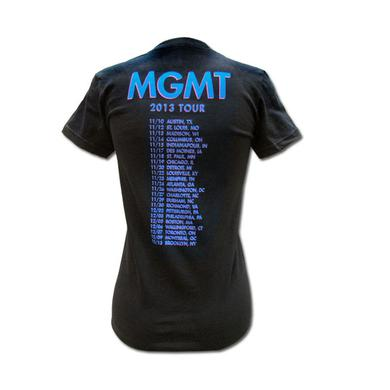 Mgmt Girl's Op-Art Fall 2013 Tour T-shirt