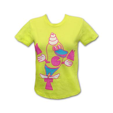 Mgmt Girl's Yellow Soft Serve T-shirt