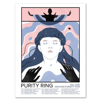 Purity Ring Fall Tour 2016 Poster