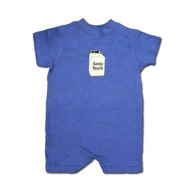 Sonic Youth Baby Washer Romper