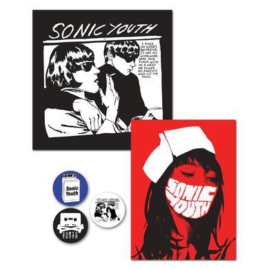Sonic Youth Goo/Nurse Button Sticker Pack
