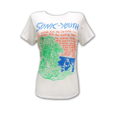 Sonic Youth Girl's Savage T-shirt