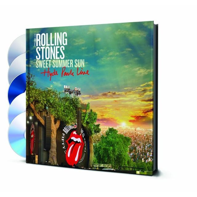 The Rolling Stones Sweet Summer Sun - Hyde Park Live 2DVD/Blu-ray/2 CD + 1969 bonus DVD