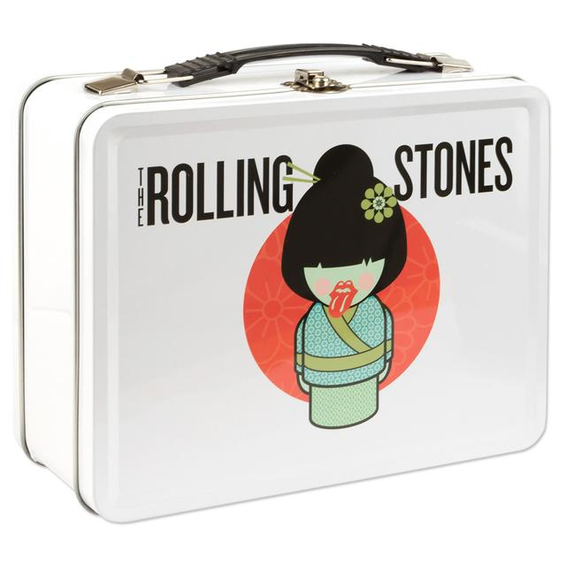 Rolling Stones Cartoon Geisha Lunch Box