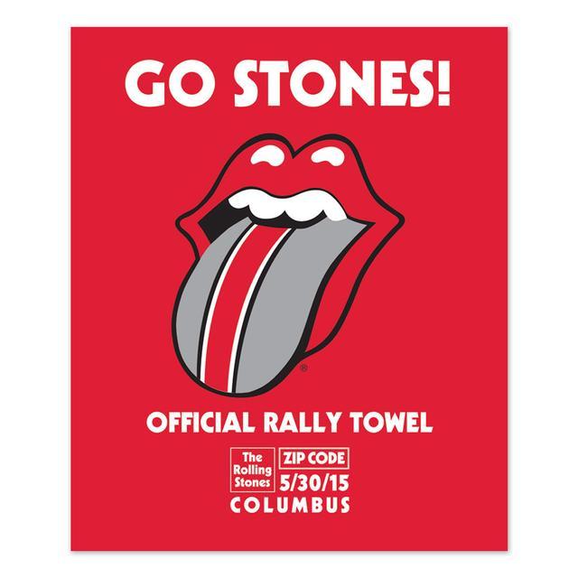 Rolling Stones Columbus Rally Towel
