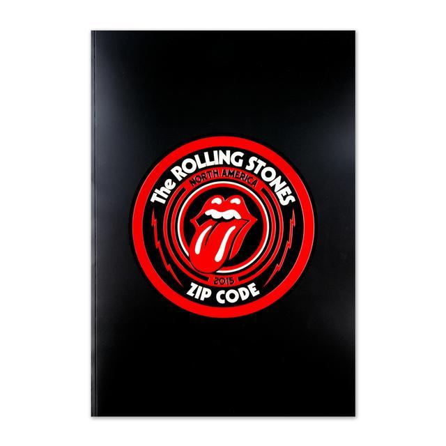 The Rolling Stones Zip Code 2015 North American Tour Program