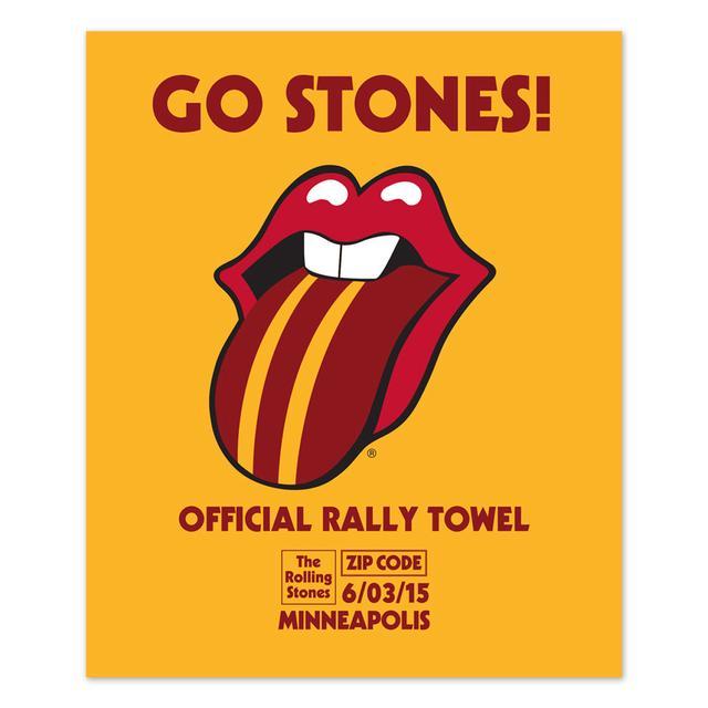 Rolling Stones Minneapolis Rally Towel