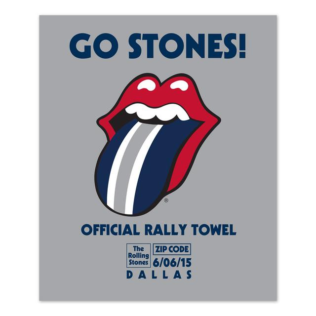 Rolling Stones Dallas Event Rally Towel