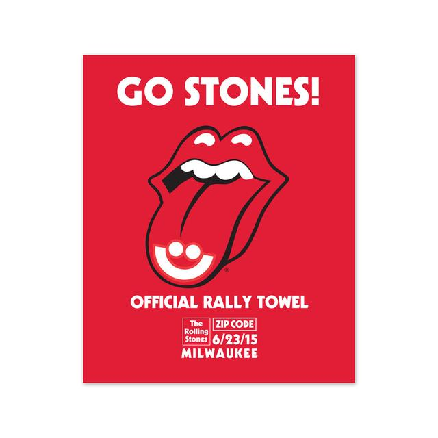 Rolling Stones Milwaukee Event Rally Towel