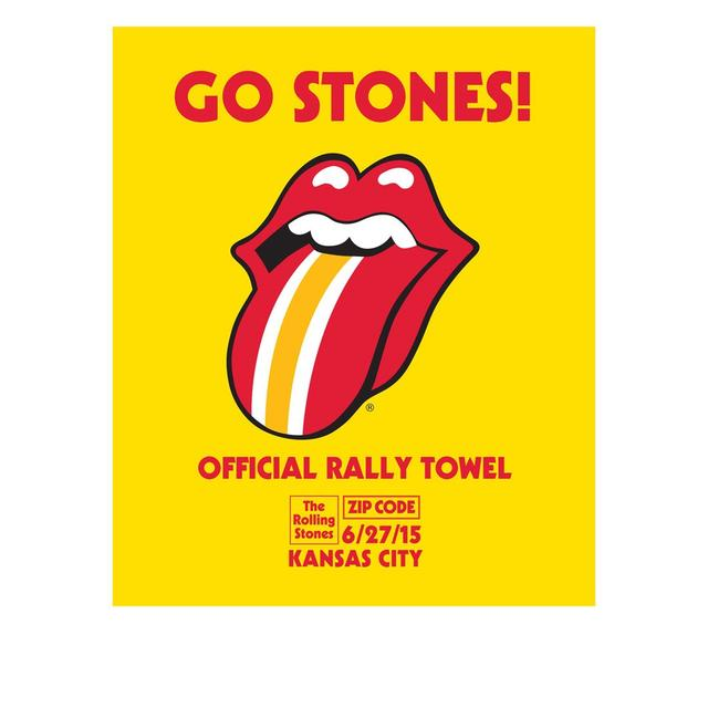 Rolling Stones Kansas City Event Rally Towel