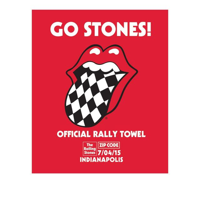 Rolling Stones Indianapolis Event Rally Towel