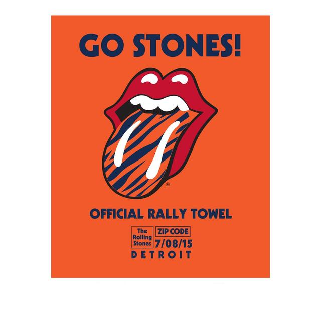 Rolling Stones Detroit Event Rally Towel
