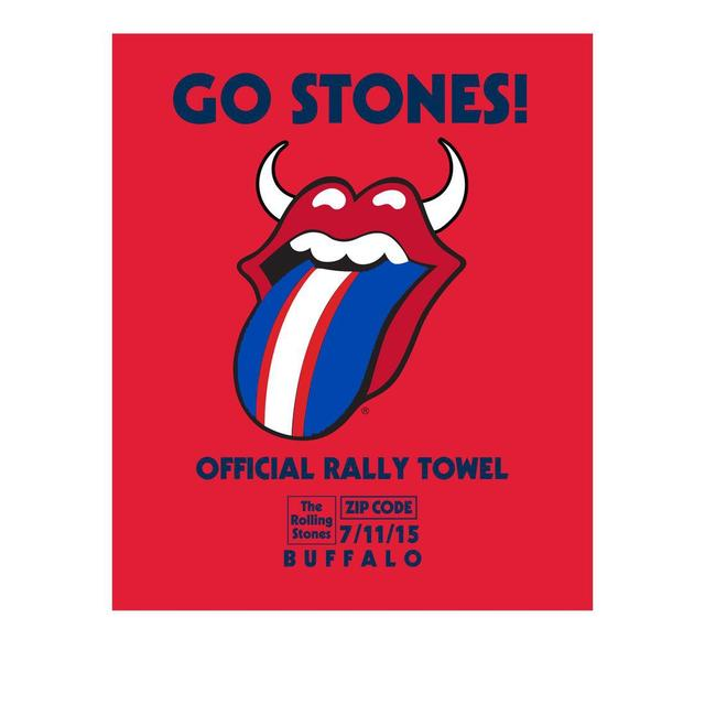 Rolling Stones Buffalo Event Rally Towel