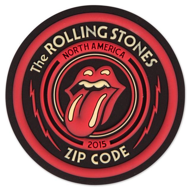 Rolling Stones Zip Code Logo Magnet