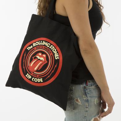 Rolling Stones Zip Code Logo Tote Bag