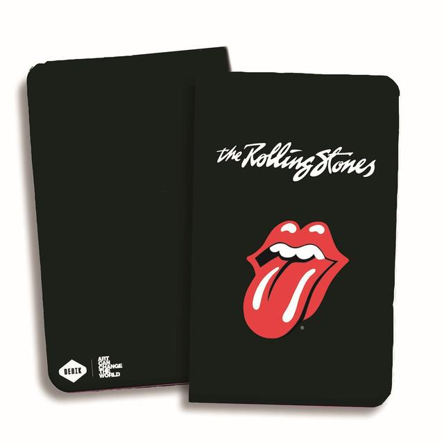 Rolling Stones Classic Tongue Black Notebook