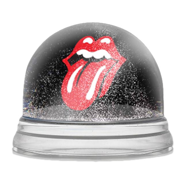 Rolling Stones Holiday Snow Globe