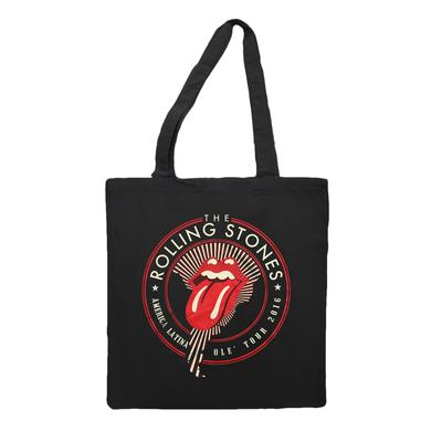 The Rolling Stones RS Ole Seal Black Tote
