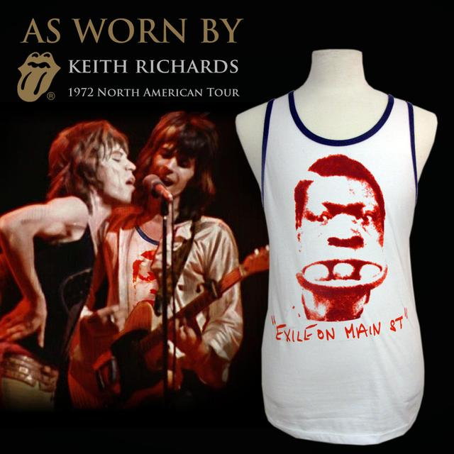 """The Rolling Stones """"3 Ball Charlie"""" Tank As Worn By(TM) Keith Richards Box Set"""