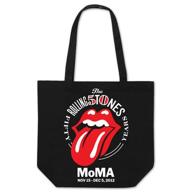 Rolling Stones MoMA Tongue Tote Bag