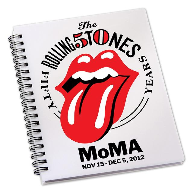 Rolling Stones MoMA Tongue Notebook