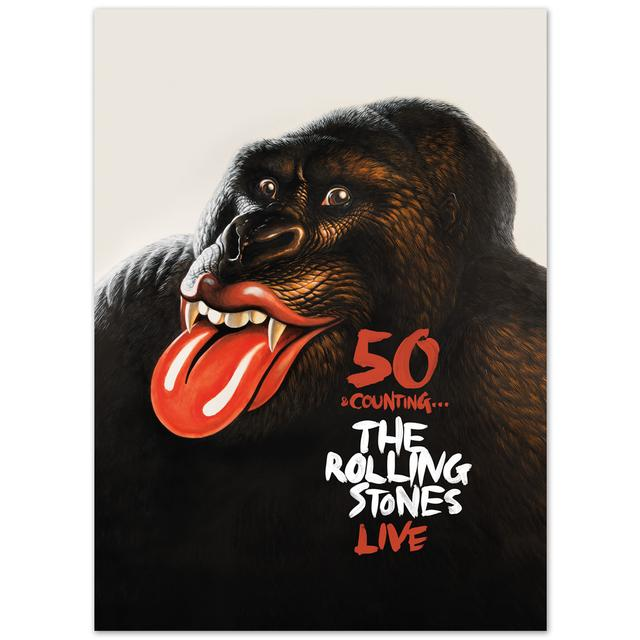 Rolling Stones 50 and Counting - Tourbook