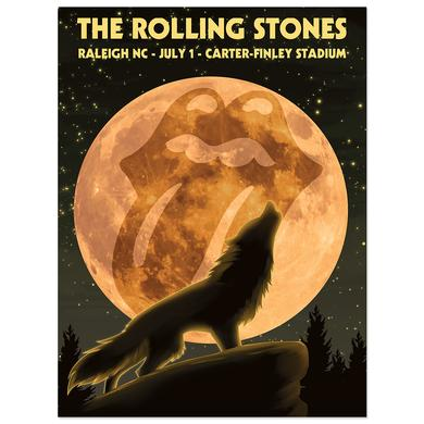 Rolling Stones Raleigh Event Litho