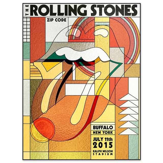 Rolling Stones Buffalo Event Litho