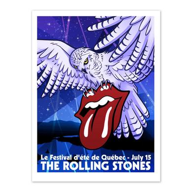 Rolling Stones Quebec Event Litho