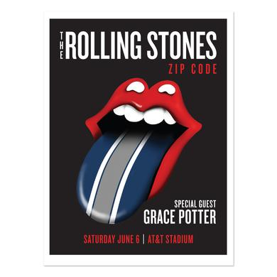 Rolling Stones - Grace Potter Dallas Event Litho
